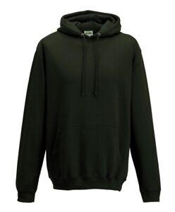 Hoodie Unisex AWD BLACK JH001 quality double fabric hood S M L XL 2XL 3XL 4XL 5X