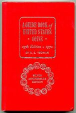 1972 Guide Book of United States Coins 25th Silver Anniversary Ed Yeoman Whitman