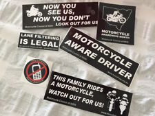 Motorcycle Awareness Month Sticker Pack