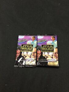 Star Wars CCG Tatooine Booster Packs x2 (Sealed, OOP)