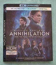 ANNIHILATION, APOLLO 13, ARGO, ARIZONA, AVENGERS, ATOMIC B 4K Blu ray slipcover