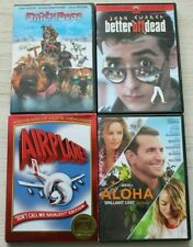 Movie Night Collection on 4 Dvd's: Better Off Dead, Airplane!, Aloha, Chilly Dog