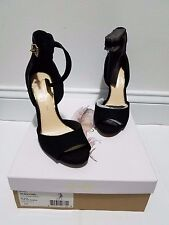 Brand New Womans Jessica Simpsons Bellona High Heels Suede Evening Shoes Sz 7M