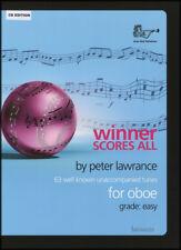 WINNER SCORES ALL FOR OBOE (CD)
