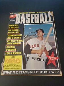 1968 Sports Quarterly Baseball Carl Yastrzemski Vintage baseball magazine Fair