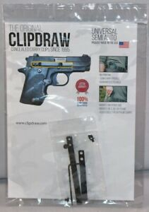 The Original Clipdraw Concealed Carry Clip For Semi-Auto Pistols SA-B