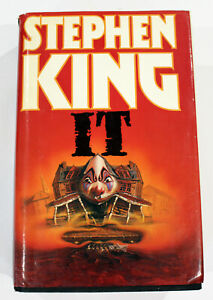 Stephen King IT 1986 by Book Club Associates &  Hodder and Stoughton