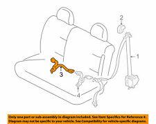 GENUINE FORD ESCAPE Rear Seat Belt Center Buckle Latch 6L8Z-7860044-AAB FLINT