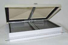 31121C2 13 roof vent ESCAPE Hatch white lid plastic frame rv bus Heng's 31121-C2