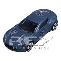 Coche Juguete Azul Metálico a Escala 1:64 Colección Vehículos Tuning j203