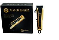 Professional High Performance Cordless Barber Hair Clipper Clippers Haircut Kit