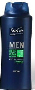 1 Suave Professionals 28 Oz Men Deep Clean Mint Refresh Anti Dandruff Shampoo