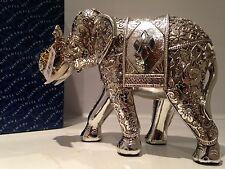Shudehill Silver Spirit Diamond Mirror Elephant Ornament Gift Figurine