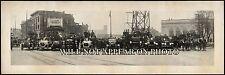 "1921 Niagara Falls, New York Fire Department Vintage Panoramic Photo 20"" Long"