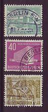 Echte gestempelte Briefmarken aus Deutschland (ab 1945) mit Bauwerks-Motiv