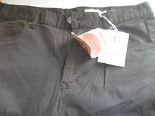 Rusty Indi Slims Men Slouch Rise Narrow leg Illusion Pants Gravel Size W33