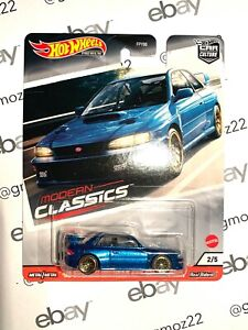 🔥 Hot Wheels 2020 Modern Classics Car Culture - '98 Subaru Impreza 22B STi 🔥