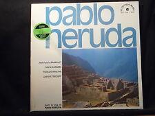 Jean-Louis Barrault, tra l'altro-avec la numerosissimi de Pablo Neruda