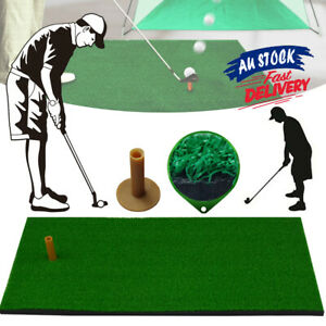 30*60 Mat Training Swing Detection Batting Aid Grass Golf Practice Tee ACB#