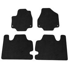 New 2017-2019 Chrysler Pacifica Oem Carpeted Floor Mats - 4 Piece Set - Black
