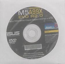 Original ASUS placa madre controlador CD DVD m5a99x evo r2.0 nuevo Win XP 7 new Windows