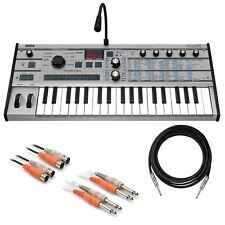 Korg microKORG Synthesizer / Vocoder - Platinum CABLE KIT