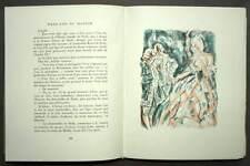 emboitage WEEK END AU MANOIR par LOUIS-CHARLES ROYER lithographie érotisme 1946