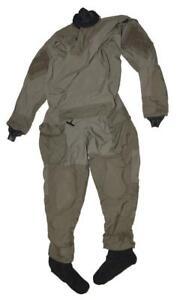 Kokatat SOF Maritime Assault Suit MASS Mas Grey Drysuit - LG SHORT - SEAL DEVGRU