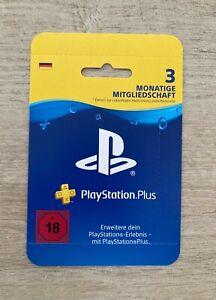 ✅3 Monate PlayStation Plus ✅Mitgliedschaft Code für PS5 PS4 DE ⚡️Versand