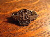 Harley Davidson Pin - Vintage 1999 Harley Owners Group Ladies Motorcycle Chopper