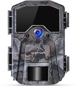APEMAN Wildlife Camera 20MP 1080P Trail Camera, Night Detection Game Camera with