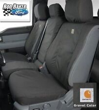 17-18 Carhartt Front Seat Covers by Covercraft Gravel 40-20-40 Water-Repellent