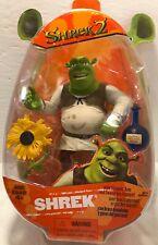 Shrek 2 Action Figure w/ Slammin Arm & Swamp Gas Feature  Brand New Hasbro