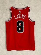 Chicago Bulls Zach LaVine #8 Swingman Jersey Nike Icon Edition Size M (44) Red