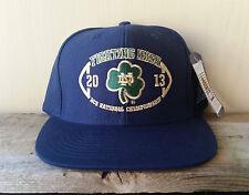 University of Notre Dame FIGHTING IRISH 2013 Clover Hat ADIDAS Strapback Cap