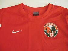 NIKE TEAM 1995 MAMBAS FOOTBALL CLUB NEW VTG ORANGE & WHITE MEDIUM SOCCER JERSEY