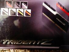 32GB G.Skill DDR4 TridentZ 3200 CL15 1.35V Dual 2x16 SAMSUNG B DIE RAM
