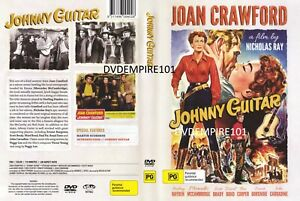 Johnny Guitar DVD Sterling Hayden New and Sealed Australian Release