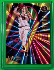 2020-21 Donruss Nikola Jokic Power In The Paint Yellow Laser #'d 6/25 SP 2 of 10