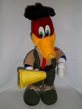 Walter Lantz Plush Movie Director Woody Woodpecker Film Producer Vtg Stuffed