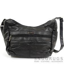 Ladies / Womens Stylish Soft Nappa Leather Shoulder Bag / Handbag