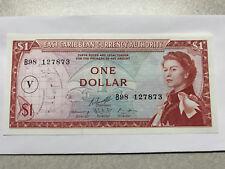 1965 East Caribbean Currency Authority 1 Dollar Gem Crisp Unc. #9233