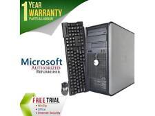 DELL Desktop Computer OptiPlex GX755 Core 2 Duo E6550 (2.33 GHz) 4 GB DDR2 160 G