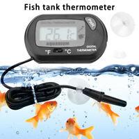 Digital Thermometer LCD Aquarium Fish Tank Marine Terrarium Reptile Snake Frog