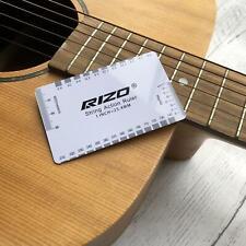String Action Gauge Ruler Setup Guide Guitar Measuring Luthier Tool