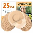 Fixic Freestyle Libre Adhesive Patches 25 PCS - NO Glue in The Center - Tan
