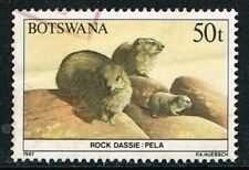 Botswana 1987. Nature. Animals. Rock Dassie. 50t. Used.