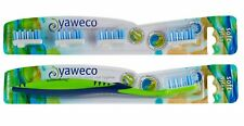 Yaweco Nylon Soft Toothbrush and Replacement Heads