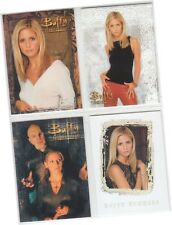 Buffy The Vampire Slayer: The Story So Far - 4 Card Promo Set P1 P2 P3 P4