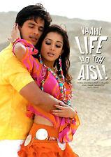 Vaah Life Ho Toh Aisi - DVD (Shahid Kapoor, Sanjay Dutt, Amrita Rao) Bollywood